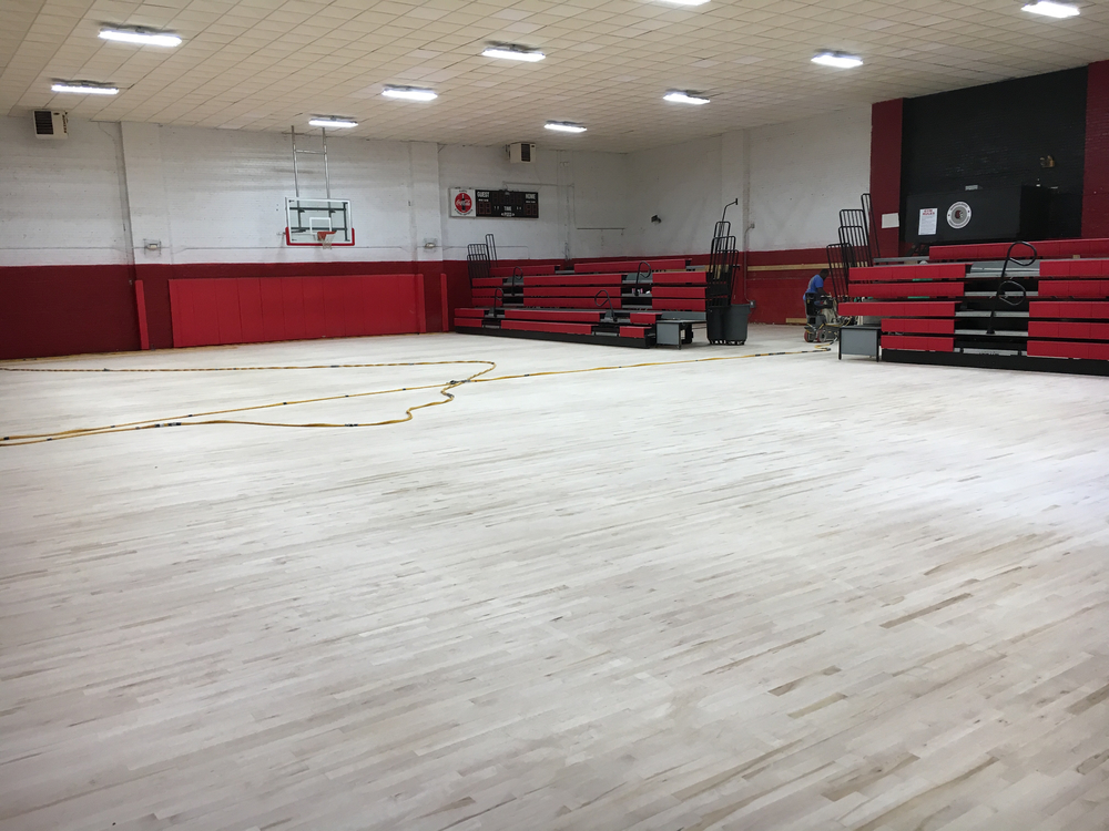 IMS GYM Floor Update