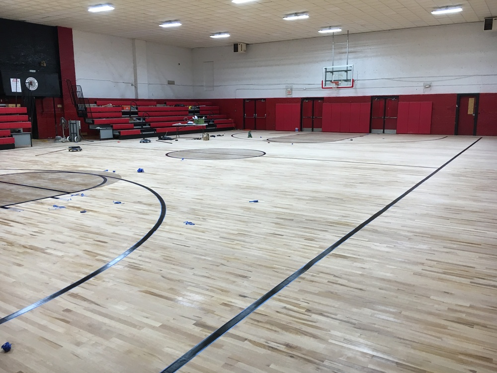 Gym Floor Update