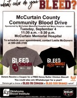 McCurtain County Blood Drive