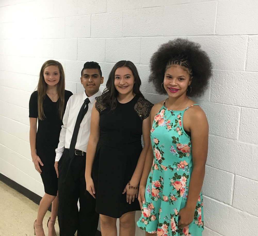 IMS Installs New Members in NJHS