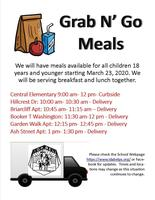Grab & Go Lunches During the School Closure