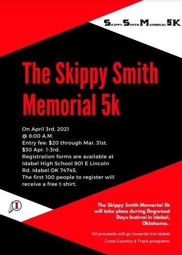 Skippy Smith 5K Flyer 2021