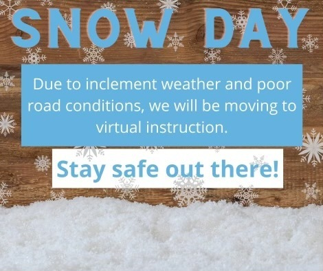 snow day 2021 virtual instruction