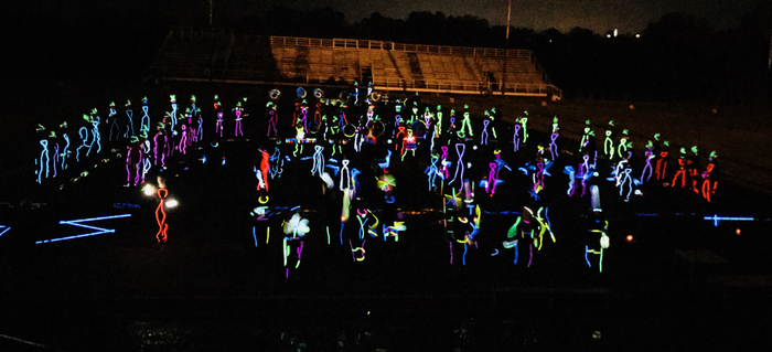 2018 Band Light Show