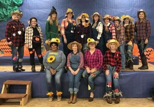 Primary Teacher Scarecrows 2018