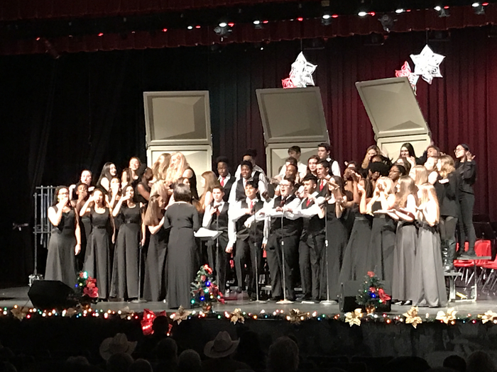 #ihswarriors Choir Taste of Christmas 2018