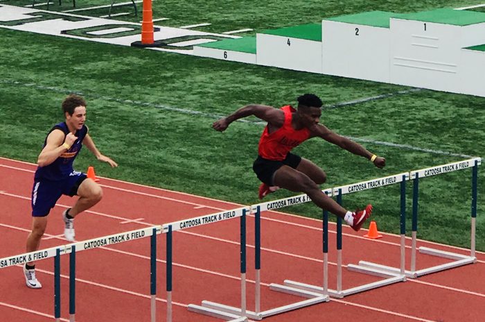 Christian Wortham State Track Meet 2019