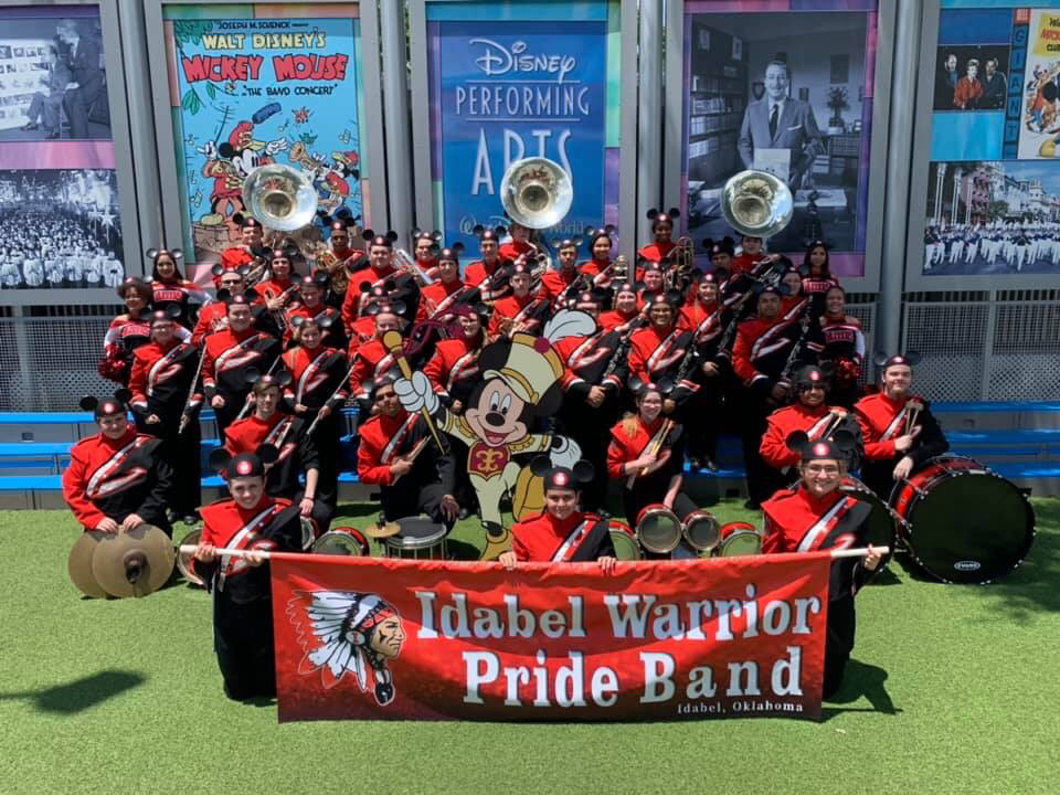 Band at Disney 2019