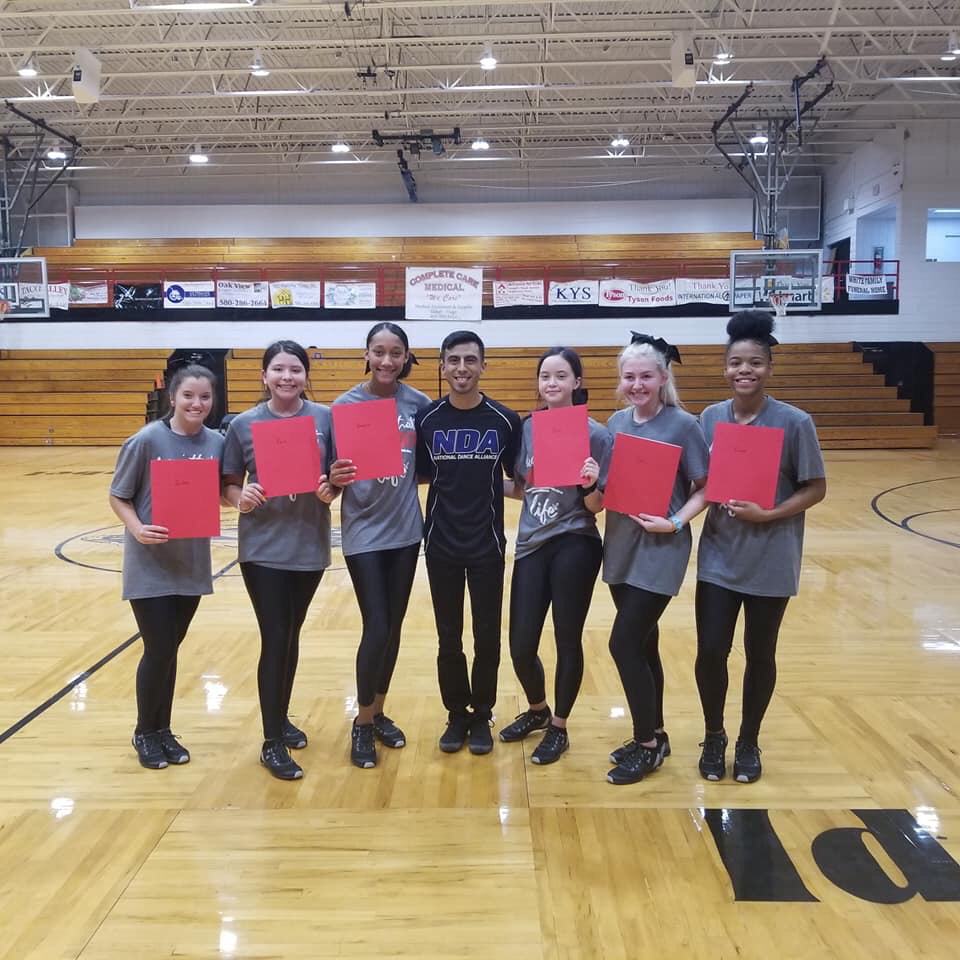 2019 ALL AMERICAN DANCE TEAM MEMBERS