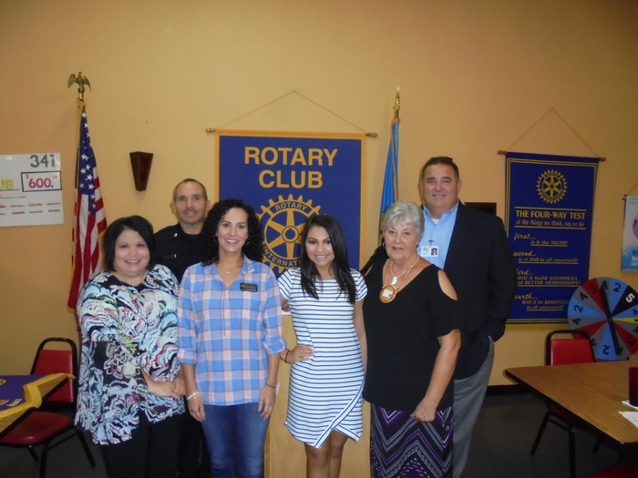 Rotary August Student of the Month Isabella Murray!