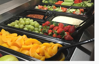 Fruit and veggie bar