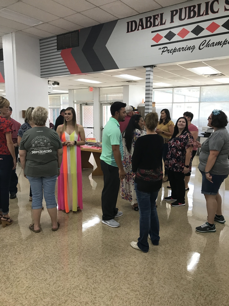 New teacher reception 2019