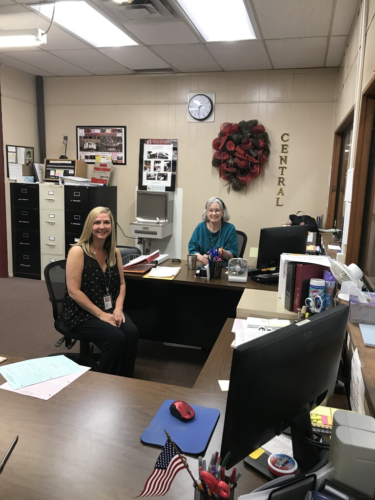 Welcome back to school. Central office staff.