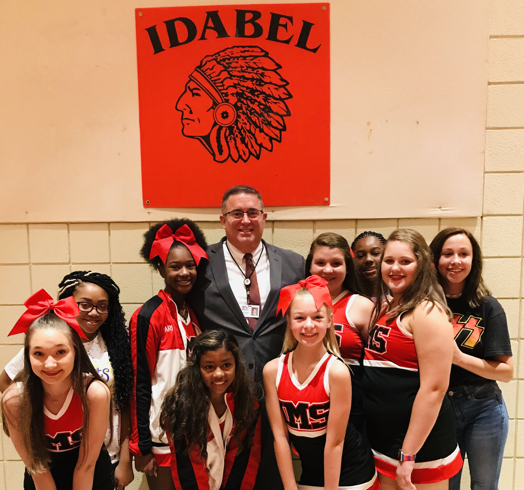 IMS 8th Grade Cheer 2019