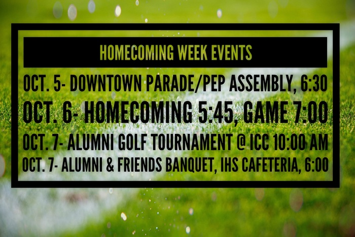 HOMECOMING  is right around the corner! #ihswarriors #ipswarriors #GOWARRIORS!
