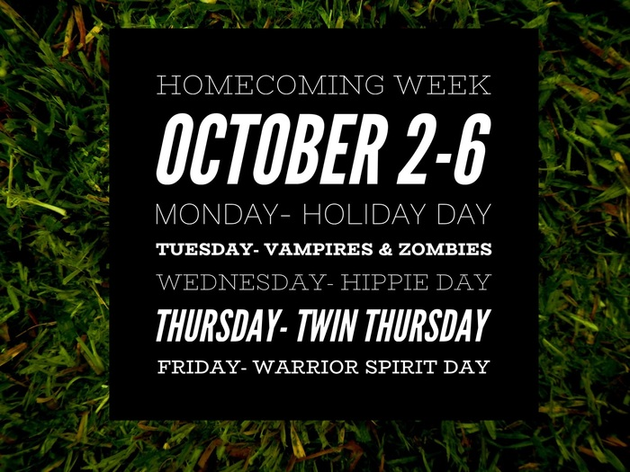 Homecoming Spirit Week 2017