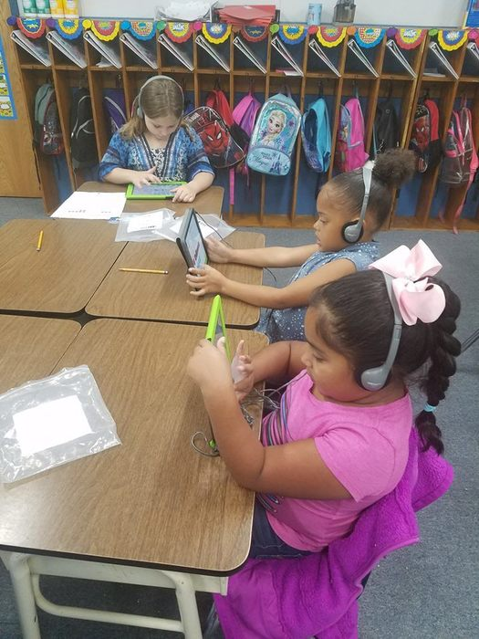 Archies Firsties using tech in Math