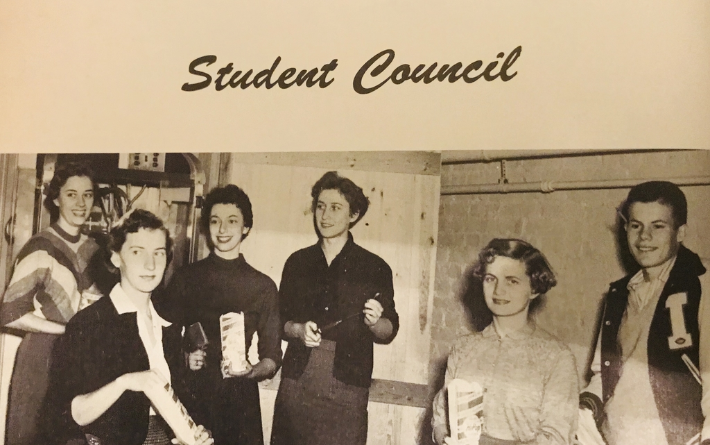 1957 StuCo Officers