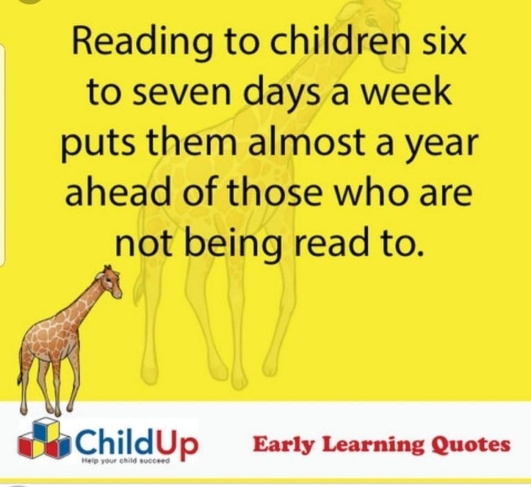 Reading to your kids
