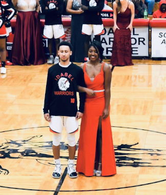 Aleyah Herrod bb homecoming 2020
