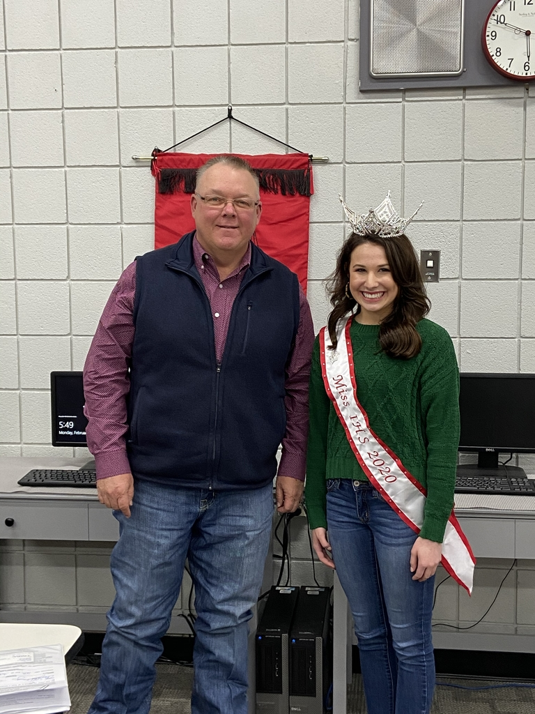 Miss ihs Clay with Bolen 2020