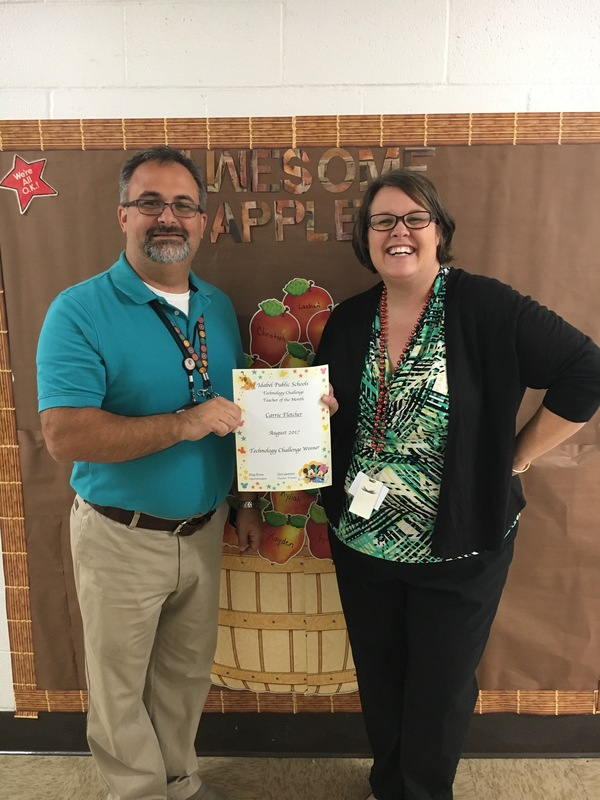 Technology Challenge Teacher of the Month